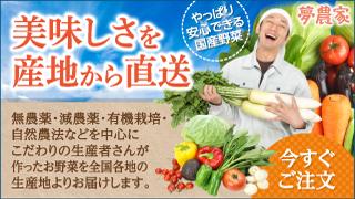 産直野菜の通販サイト|夢農家